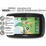 TomTom Rider 450 World Lifetime – manual